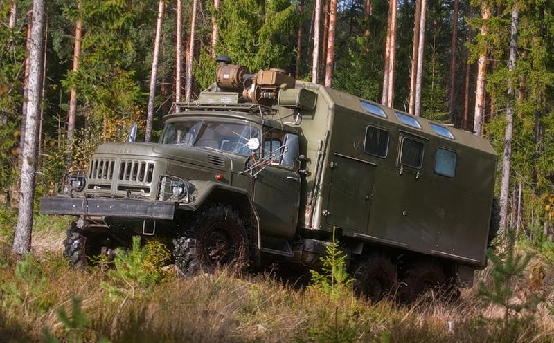 ЗиЛ 131 армейский грузовик