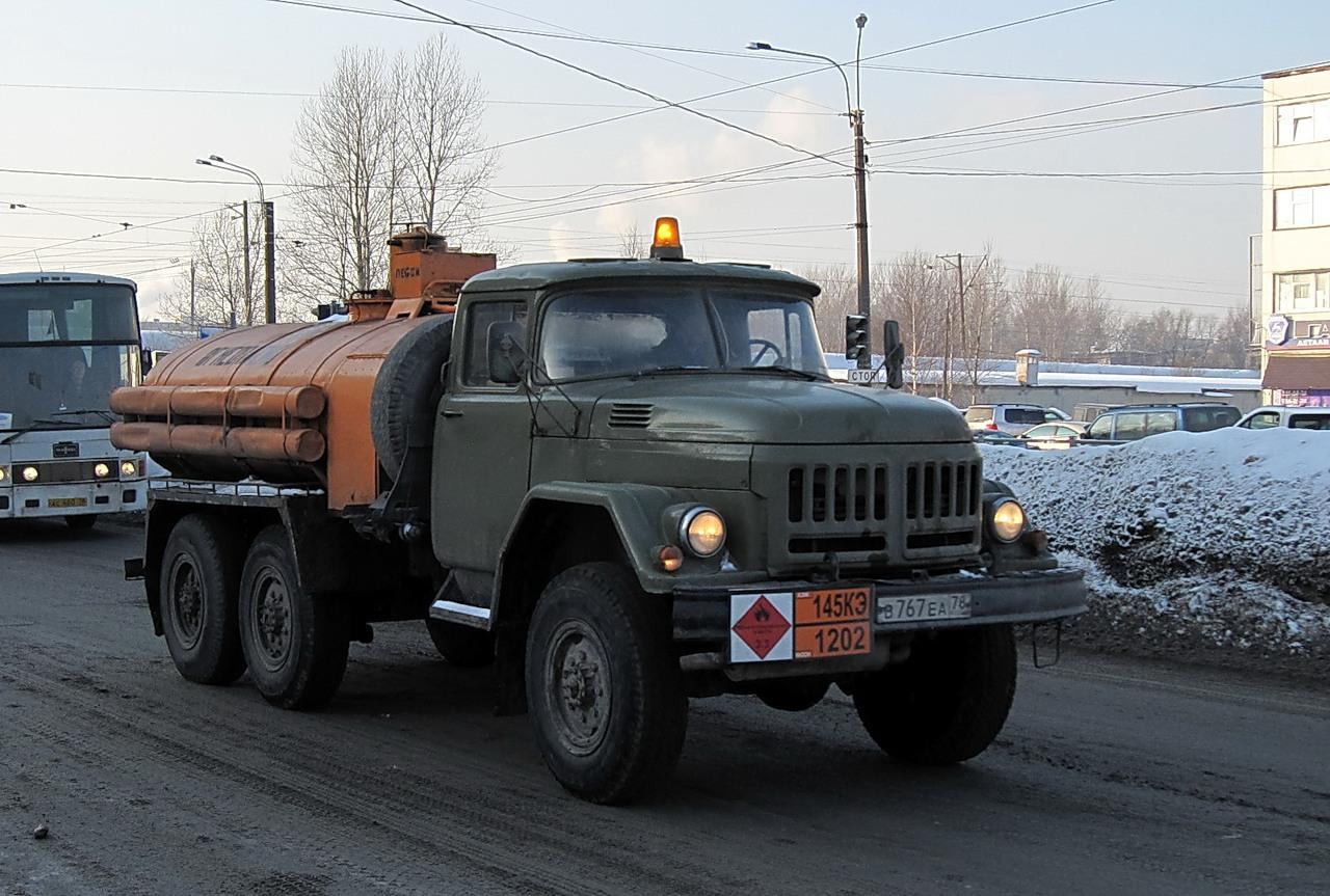 ЗиЛ 131 бензовоз