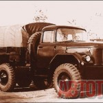 Экперементальный автомобиль повышенной проходимости ЗИЛ-165, ставший прародителем ЗИЛ-131, был построен в 1956 году. Фото из архива А. С. Исаева