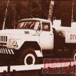 Маслозаправщик «МА-4А» на шасси ЗИЛ-131 строился Реутовским заводом «Стройоборудование» с 1969 по 1978 годы. Фото автора