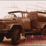 Буровая установка «УРБ-22» на шасси ЗИЛ-131 для бурения неглубоких скважин выпускалась Нальчикским механическим заводом с 1973 по 1984 год. Фото автора