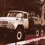Электромеханизированный автопоезд-лесовоз «2ТЭМ» становится одним из основных перевозчиков древесины в 1974 - 1980 годах. Такие автопоезда изготавливались Тавдинским механическим заводом. Фото автора