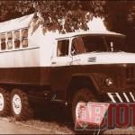 Автомастерские «Т-142 Б» комплектовались прицепом-цистерной для перевозки ГСМ. Они оказались незаменимы для ремонта и обслуживания тракторов и автомобилей в полевых условиях. Фото автора