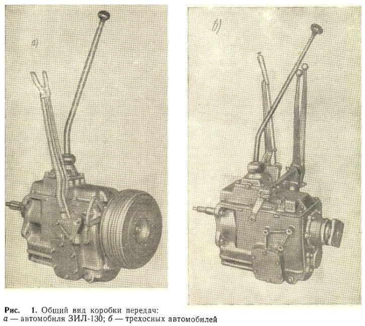 Общий вид коробки передач