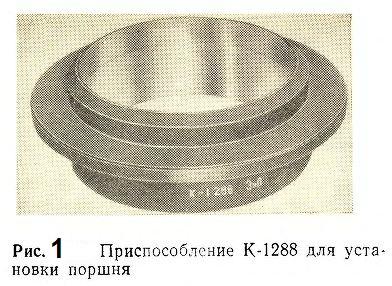 Приспособление К-1288 для установки поршня